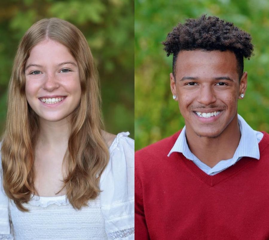 Meet your 2021-2022 All School Presidents: DeVon Thompson and Natasha Fertig